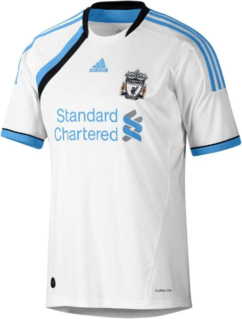 The Football Shirts Book The Connoisseur S Guide Liverpool Third Shirt For 2011 12 Season Official Photos