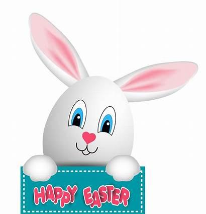 Easter Bunny Clip Clipart Happy Transparent Pluspng