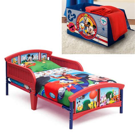 disney doc mcstuffins toddler bed with bonus collapsible