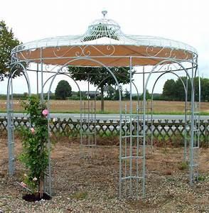 Pavillon Aus Metall : hochwertiger pavillon aus metall f r den garten ~ Frokenaadalensverden.com Haus und Dekorationen