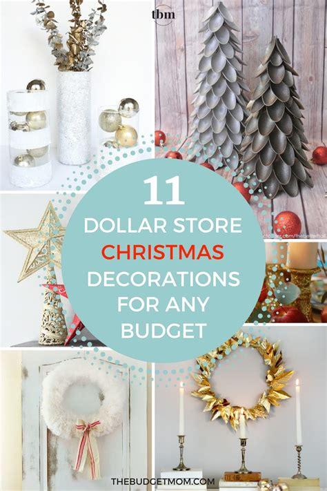 glamorous dollar store christmas decorations