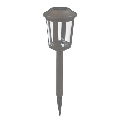 integrated led outdoor lighting duracell solar charcoal brown outdoor integrated led
