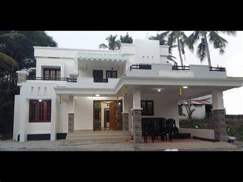 small modern double floor house  sft   lakh