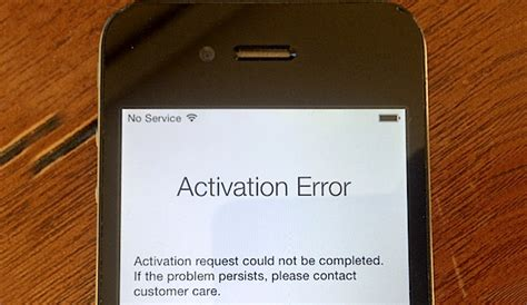could not activate iphone fix iphone activation error after update or restore