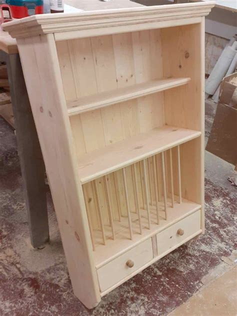 wooden plate rack mary wall mounted plate rack