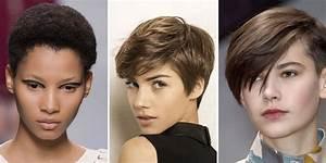 Coupe Mi Courte Femme : coupe courte les plus belles coupes pour cheveux courts ~ Nature-et-papiers.com Idées de Décoration