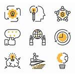 Icon Project Management Icons Library Business Vector