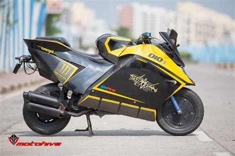 Dio Modified by Honda Dio Modified Bikes Image Specification 800 X 533