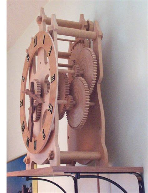 wooden clock patterns 171 free 17 best images about escapement mechinism on
