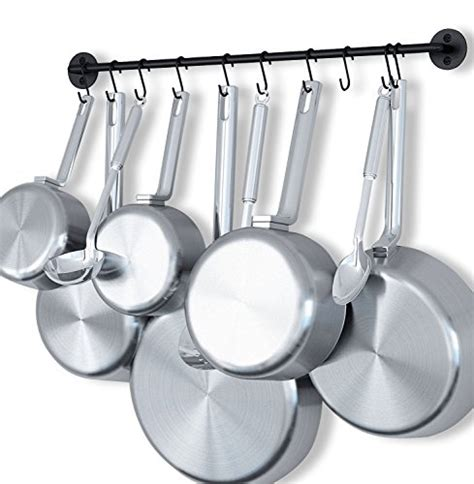 Kitchen Hooks For Pot Holders by 25 Top Pot Pan Lid Racks 2019