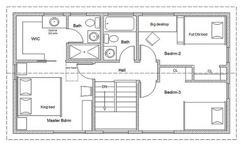 builder house plans 2 bedroom house simple plan simple house floor plan