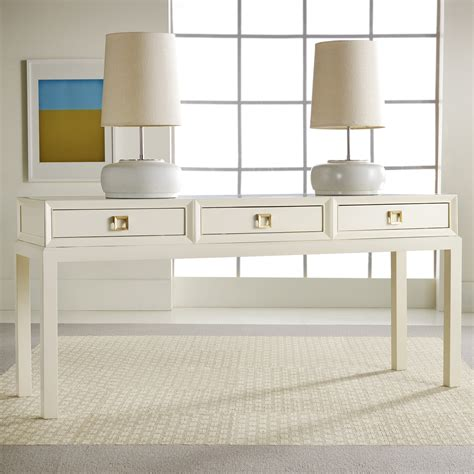 modern white table l modern white console table with drawers quotes