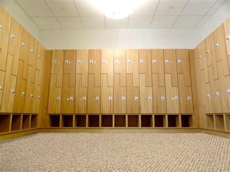 experience wood lockers   custom wood