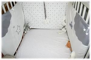 Tour De Lit Pour Berceau : tour de lit sa pomme d 39 t lo elle aime ~ Teatrodelosmanantiales.com Idées de Décoration