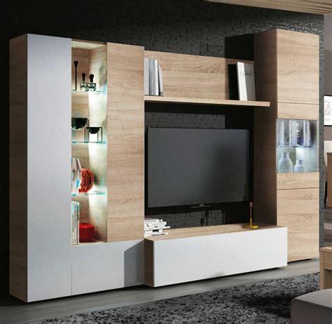 mueble tv salon modelo high muebles kit de television