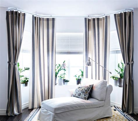 bay window curtain rods ikea www pixshark images