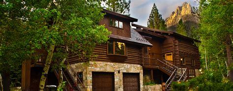 mammoth lakes cabins june lake vacation rentals lodging luxury cabin