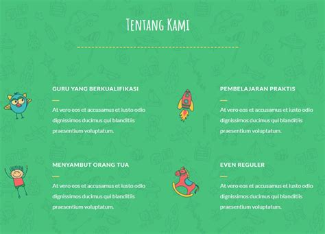 lendcreative daycare tema menarik  anak anak