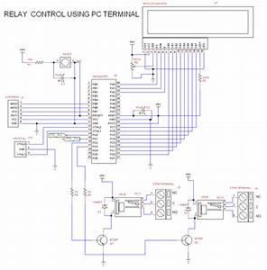 Relay Control Through Pc Using Virtual Com Port Terminal