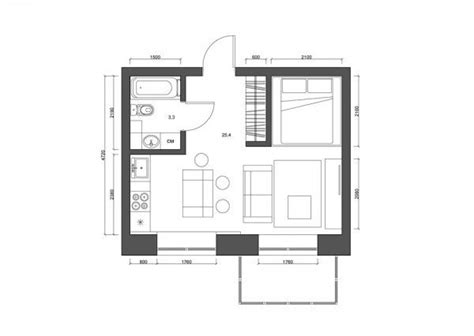 small flat plans 4 super tiny apartments under 30 square meters includes floor plans the internets best