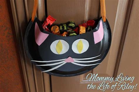 Halloween Paper Crafts  Black Cat Candy Holder Tutorial