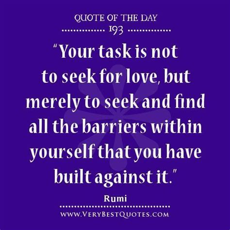 love quote   day seek  love quotes rumi quotes