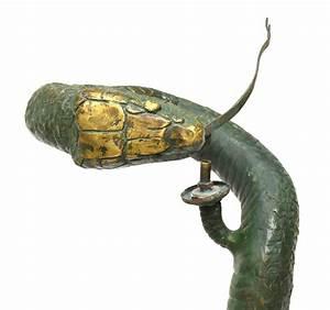 vintage bronze standing cobra snake floor lamp june With bronze cobra floor lamp