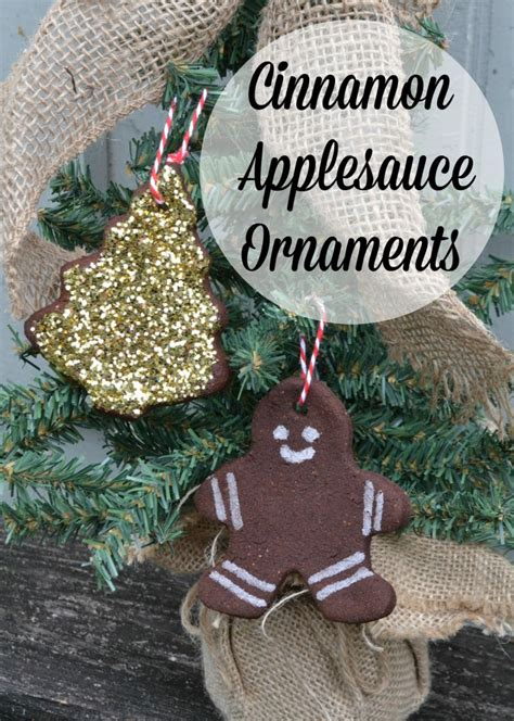 cinnamon applesauce ornaments moms without answers