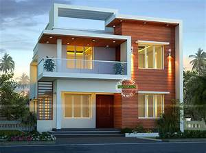 small modern double storey home design architecture and With double story modern house plans
