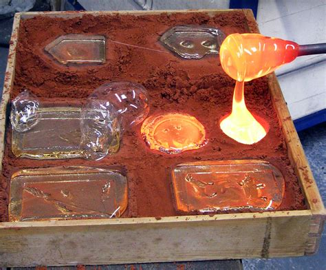Hot Glass Casting Courses 2017 10am 1pm