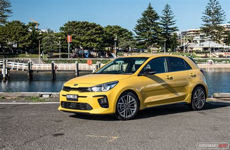 kia rio gt   turbo review video