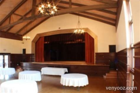 Grand Hall at Clunie Community Center   Sacramento, CA