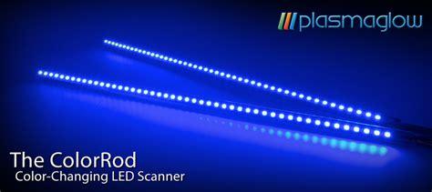 plasmaglow scanning led light bars dual 18 quot color