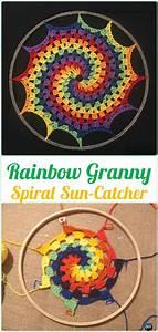 crochet catcher suncatcher free patterns