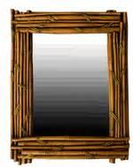 Tiki bar signs tropical home decor tropical signs home for Tropical bathroom mirrors