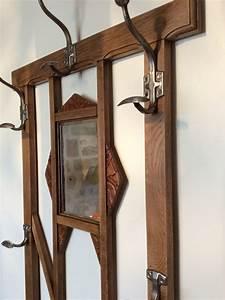 atelier darblay le meuble d39a cote With porte manteau ancien avec miroir