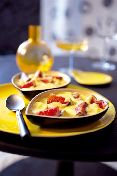 recette sabayon aux figues fraiches marie claire