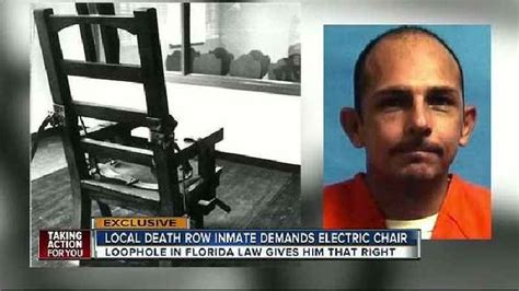 death row inmate requests electric chair  news