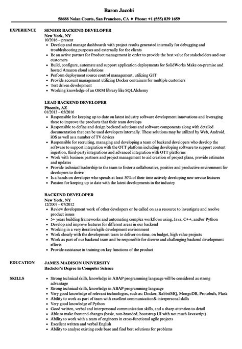magnificent experienced php developer resume sle images