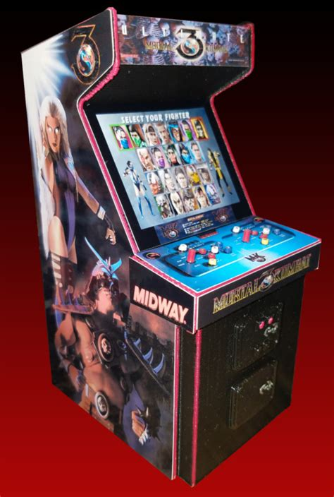 mortal kombat 3 arcade shop collectibles daily