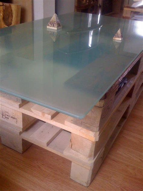 diy coffee table glass top diy pallet coffee table with glass top and lights 101 Diy Coffee Table Glass Top