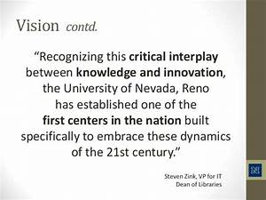 Knowledge creation and the expanding role of the 21st ...