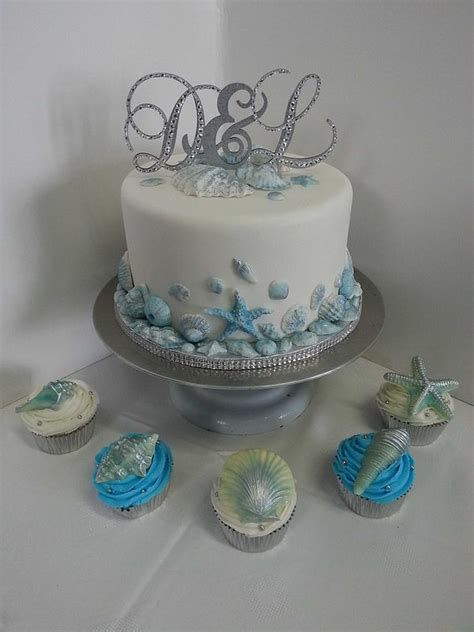 tier wedding cake  cupcakes idea   bella