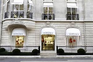 Magasin De Décoration Paris : versace rouvre sa boutique de l 39 avenue montaigne 16 04 2013 ~ Preciouscoupons.com Idées de Décoration