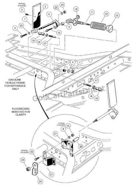 1997 Club Car Electrical Wiring Diagram by 1996 Club Car Ds Parts Diagram Downloaddescargar