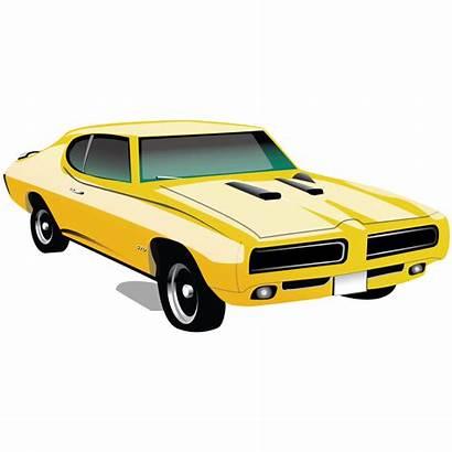 Muscle Clipart Cars Icon Classic Gto Clip