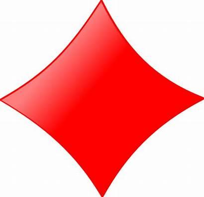 Diamond Card Clip Symbol Shapes Vector Figures