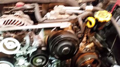 Subaru Timing Belt Legacy Outback Sohc Youtube