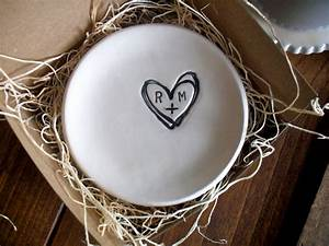 Wedding ring dish ring holder engagement custom by for Ring dish wedding