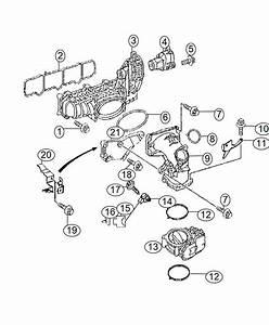 2007 Dodge Sprinter 3500 Tube  Breather  Crankcase  Engine